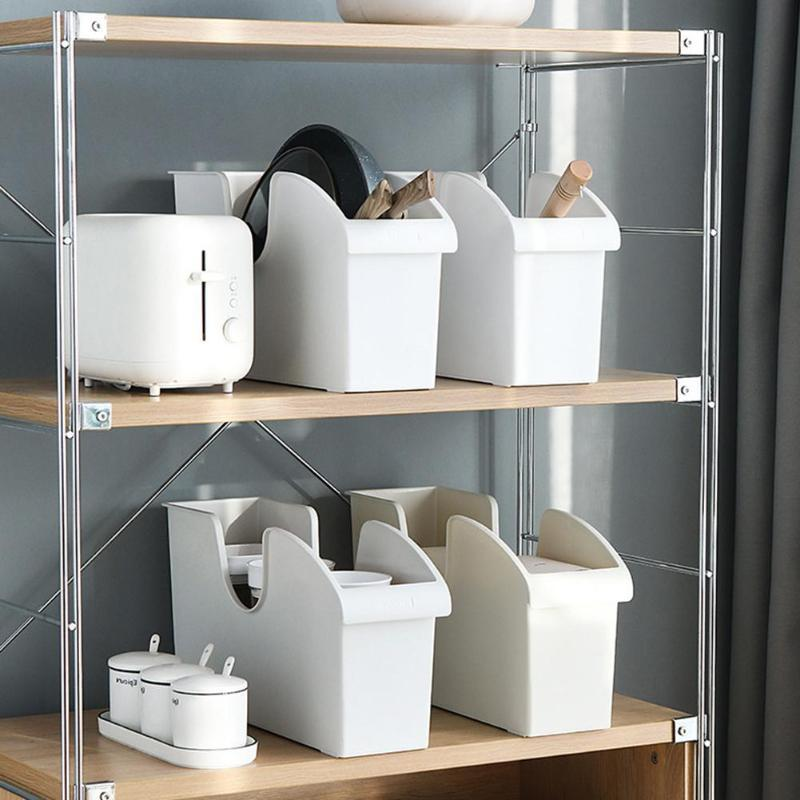 Couvercles Poulie plastique de qualité Pot couverture Batterie de cuisine Assaisonnement Boîte de rangement étagère accessoires gadget de cuisine Cuisine Débarras