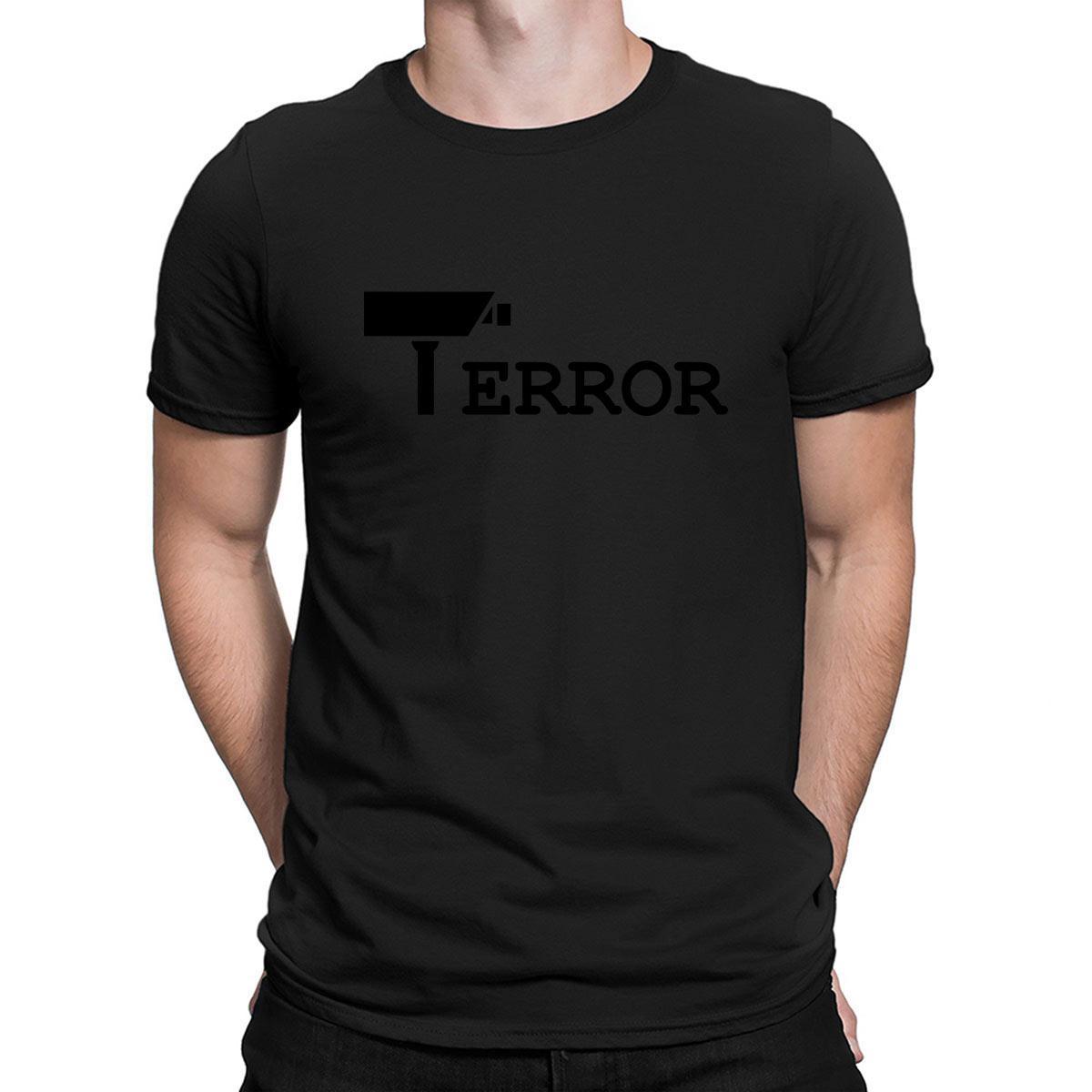 Trop nombreux appareils photo T-shirt Fit Humour O-cou en coton imprimé