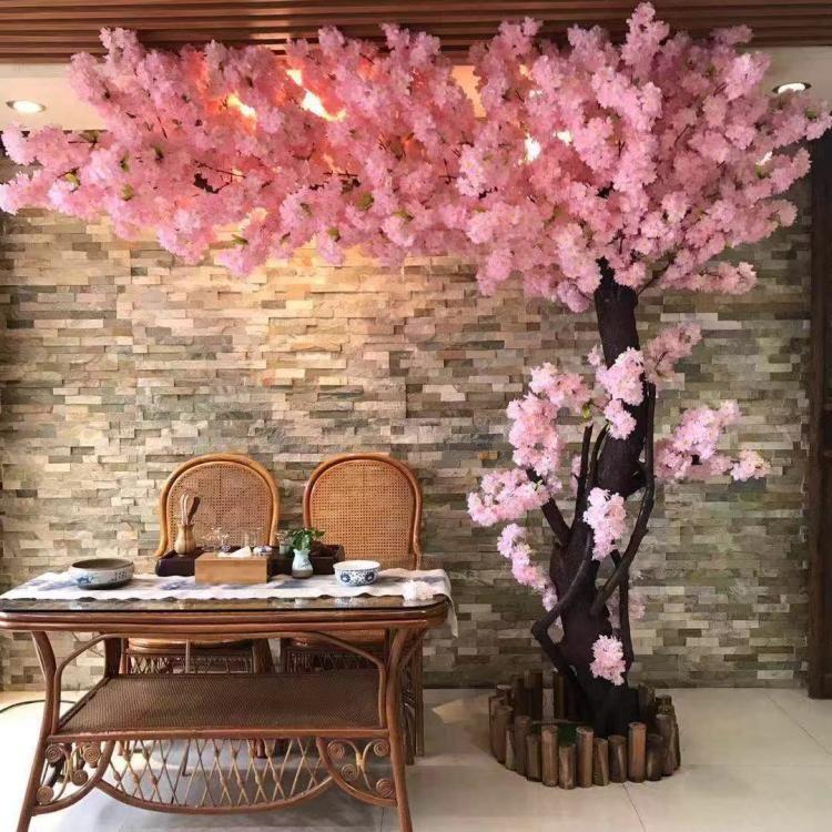 White Artificial Cherry Blossom Branch Flower Wall Hanging Sakura Tree Stem For Wedding Centerpieces Artificial Decorative Flowers From Dhgatezhangjun 2 12 Dhgate Com