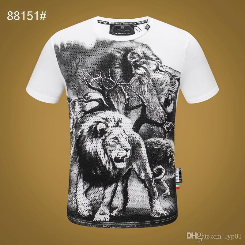 20FW Женщины Mens Дизайнер футболки Luxury Phillip Обычная футболка Summer Homme от MONC белый череп SuperMe Tee Топы толстовка костюмы 11