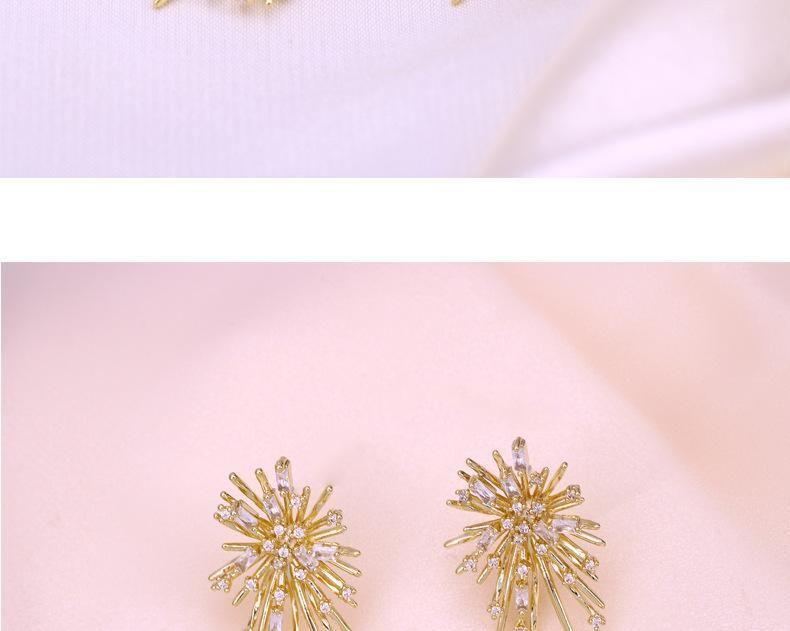 Motif créatif Femmes Goujons High Street Exagération Femme Boucles d'oreilles cadeau d'anniversaire Femme Trendy Boucles d'oreilles