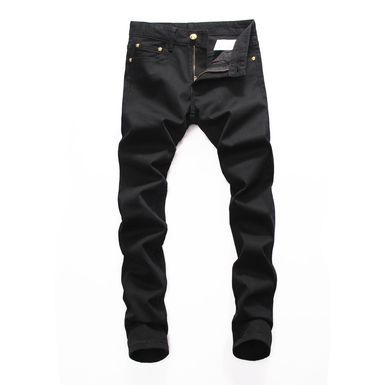 2020 Buracos Marca Mens New Verão Denim shorts homens Moda jeans slim Calças retas de tendência calças de brim derrama casas