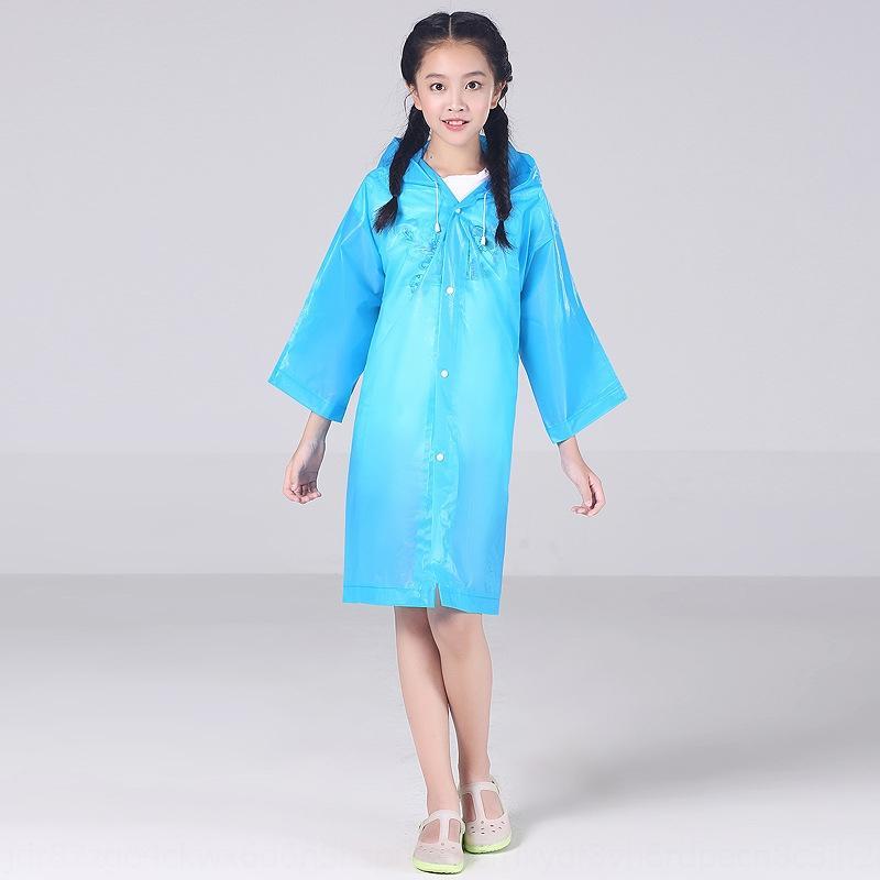Moda Cloak panço EVA yürüyüş, seyahat Vücut elbise vücut clothesboys ve kız çocuk tulum panço kalınlaşmış giysi