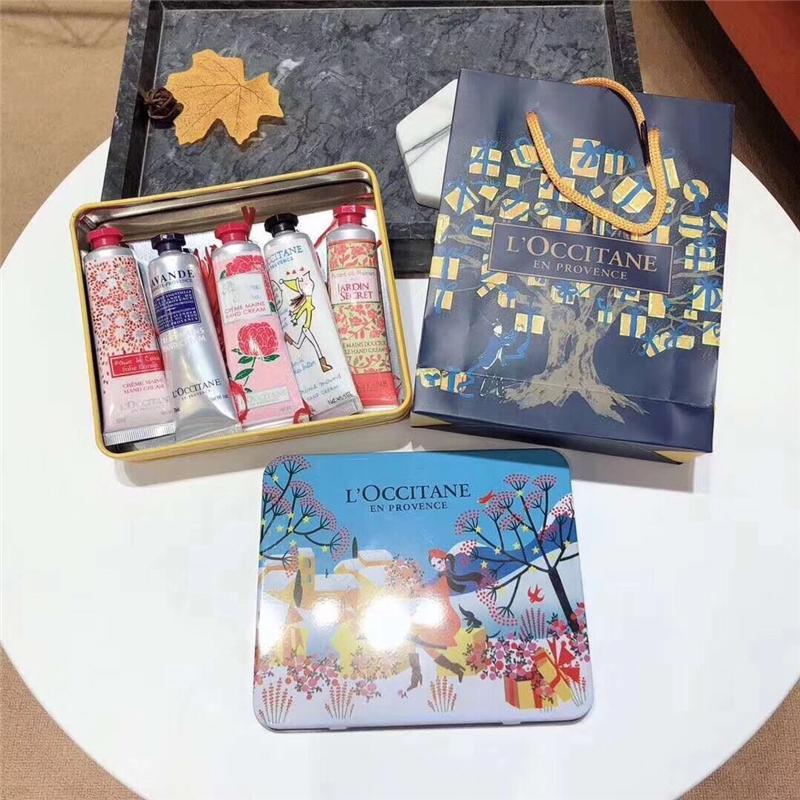 30 ml * 5pcs Lucky Hands Kit kit main versez la crème 5 roses Mains Ensemble de Voyage exclusif de soins de la peau de la main DHL gratuit