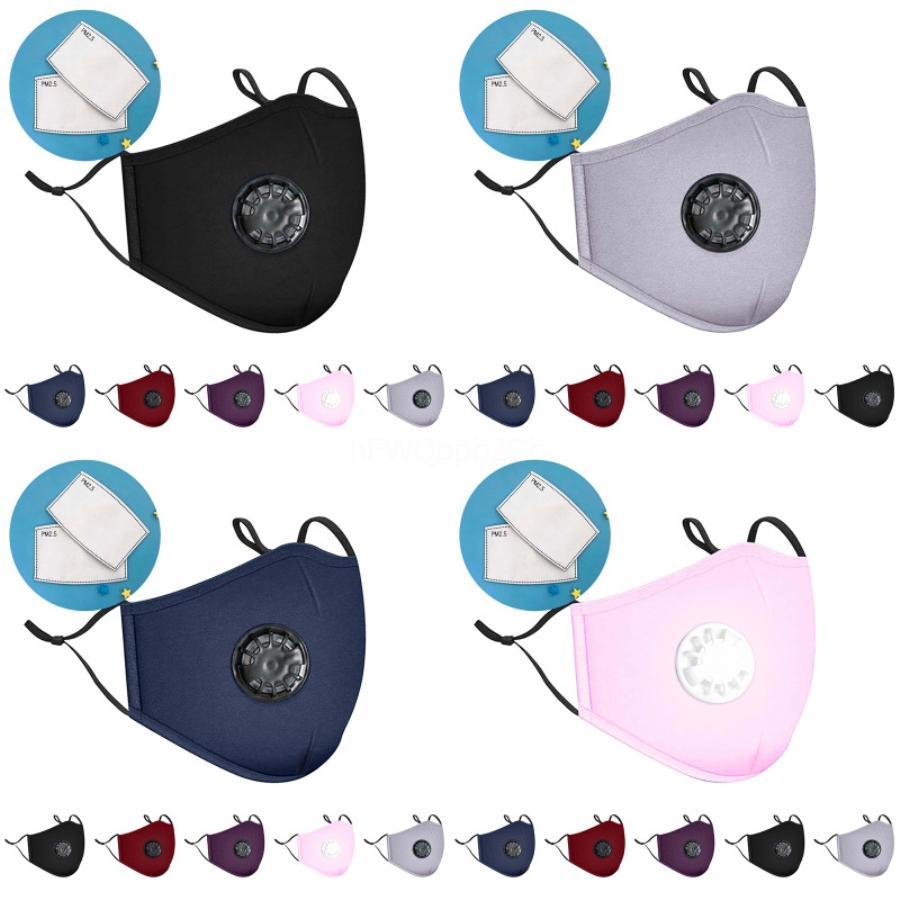 Designer anti-poussière Visage Bouche Er PM2.5 Masque anti-poussière Anti-L Lavable réutilisables Masques éponge En stock FY9041 # 113