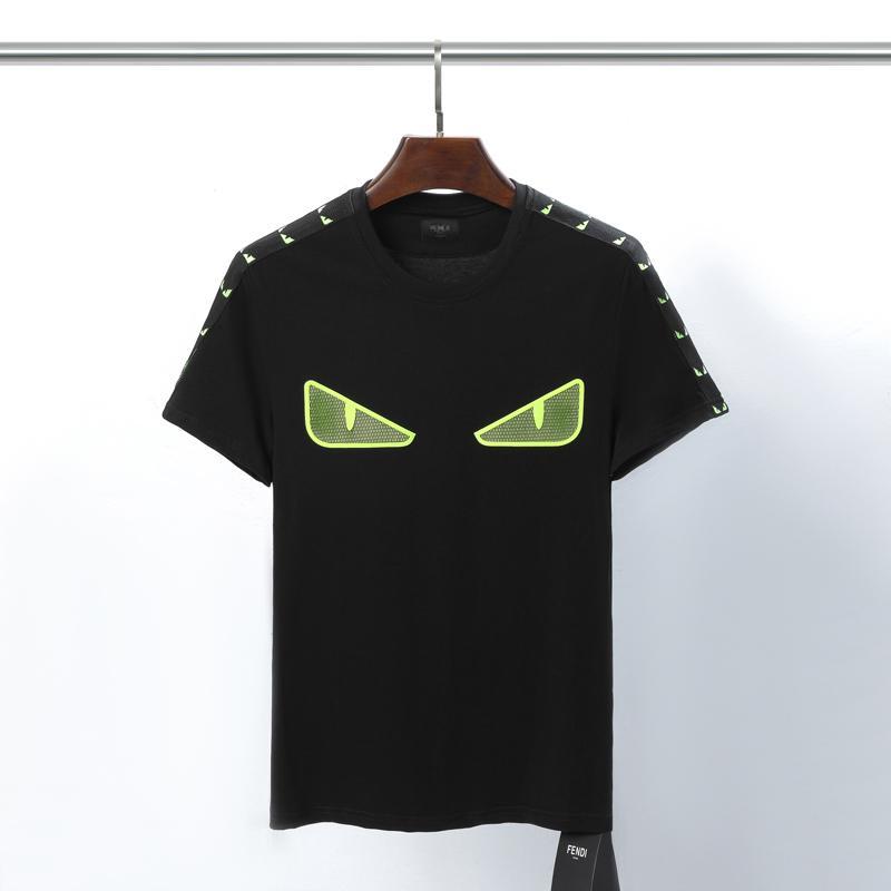 2020FW Erkek Kadın Tasarımcı T Gömlek Lüks Fen Tişörtlü sonbahar Erkekler Sokak Harf Baskılı Basit 3D Tee Ayakkabı çanta kot 14 Tops