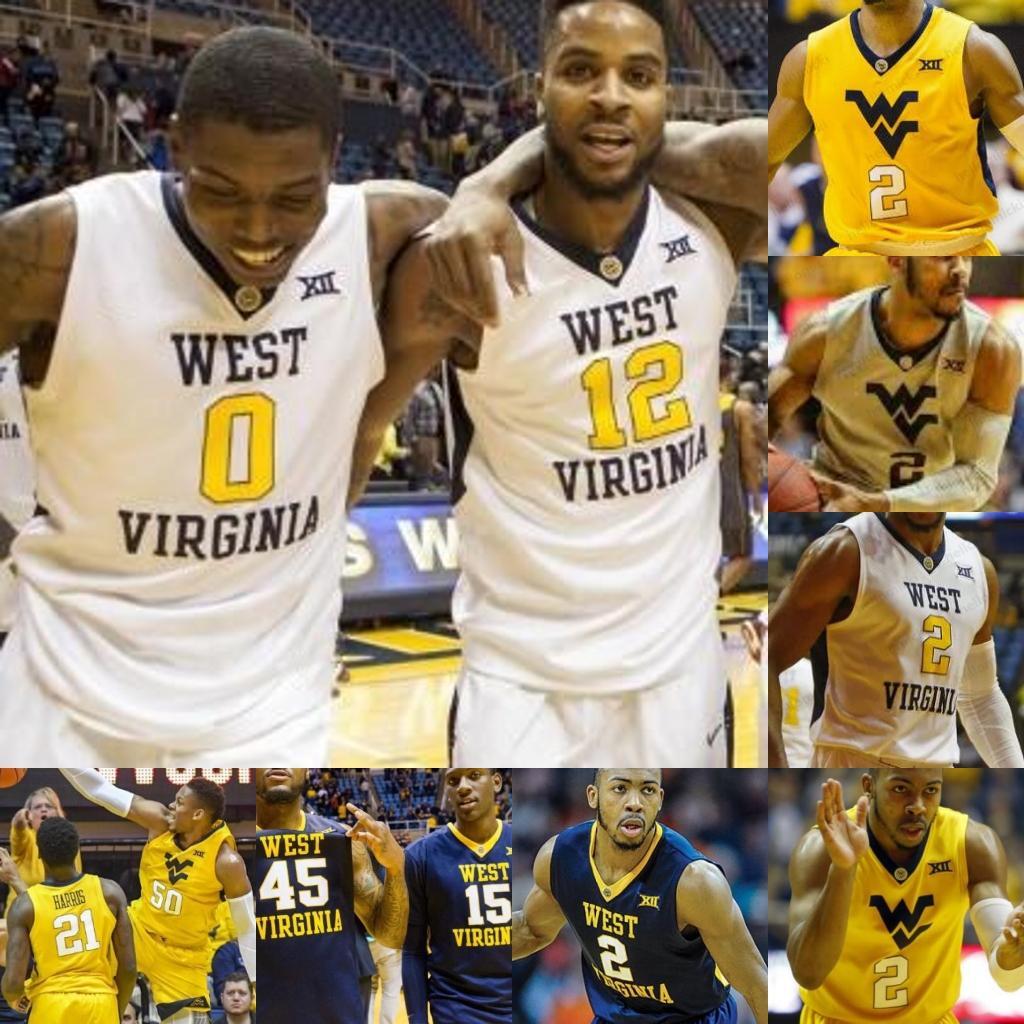 Brandon Knapper West Virginia Basketball Jersey - White