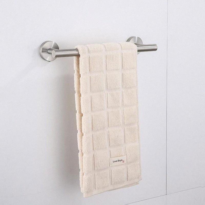 Ванная комната Оборудование Аксессуары для ванной комнаты Набор полотенец кольца бумаги Одежда Крюк из нержавеющей стали кухонного полотенца держатель 9Sp5 #