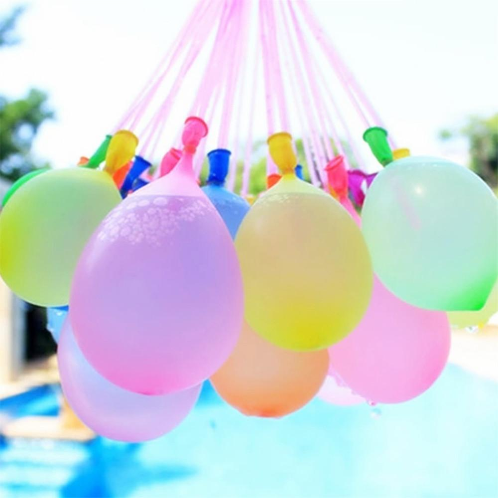 Us warehouse Colorful balloons Water Filled Balloon Toy For Fun Kid Adult Magic Water Sports Balloons Outdoor Garden Beach Swimming Pool Toy
