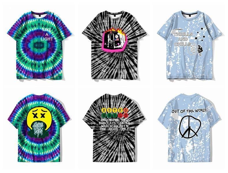 Hipster Tee Tops streetwear Yeni moda giyim Scott Astroworld komik tişört erkek kişilik Hip Hop serin Travis Camiseta S-XXL zs4zz uT1E #