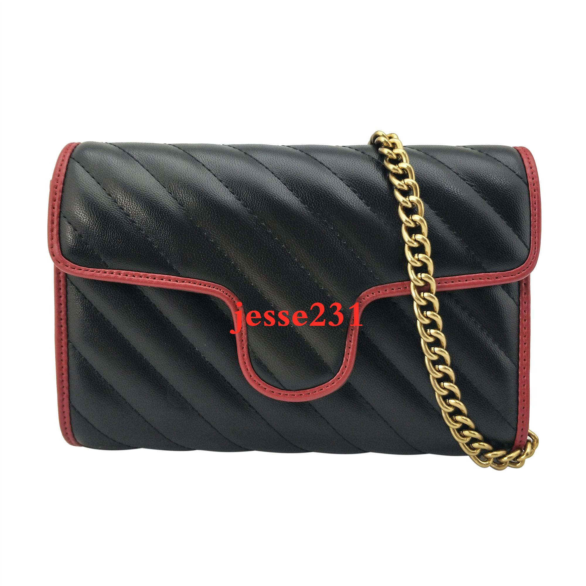 Monedero de los bolsos Mujer Mensajero bolsa de asas nuevas mujeres del estilo bolsas de hombro pequeña Cadena de Oro de la Cruz cuerpo bolsa de cuero de la PU Monedero 22cm * 14cm * 5cm