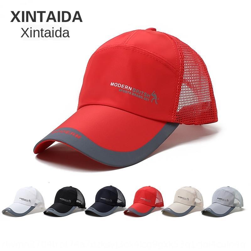 chapeau hommes occasionnels été pêche en plein air parasol perméable à l'air marée casquette de baseball casquette de baseball