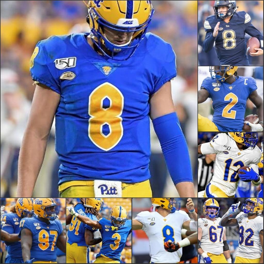 NCAA Football 2020 ACC сшитого Джерси 24 Джеймс Conner 25 Darrelle Revis LeSean McCoy 97 Аарон Дональд Питтсбург пантера Pitt