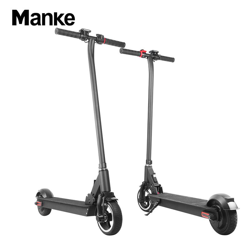 Manke New Arrival Cost-effective Two Wheels 6.5inch 300W Folding Electric Kick Scooter on Hot sale with 25km/h Max Speed MK013