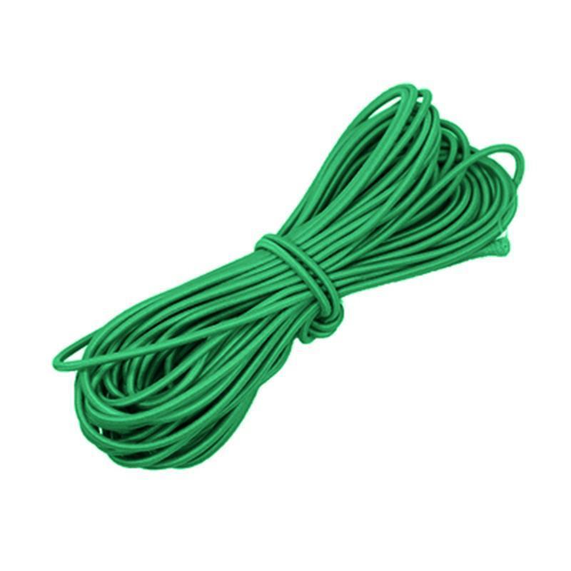 Renkli 2mm Yuvarlak Elastik Bant Yuvarlak Elastik Halat Rubber Band Hattı Halat Lateks Ve Polyester İplik