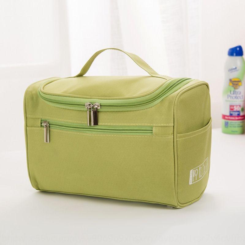 Nova prova de água de lavagem de viagem saco de grande capacidade de armazenamento multi-funcional saco de armazenamento de cosméticos produtos de higiene pessoal