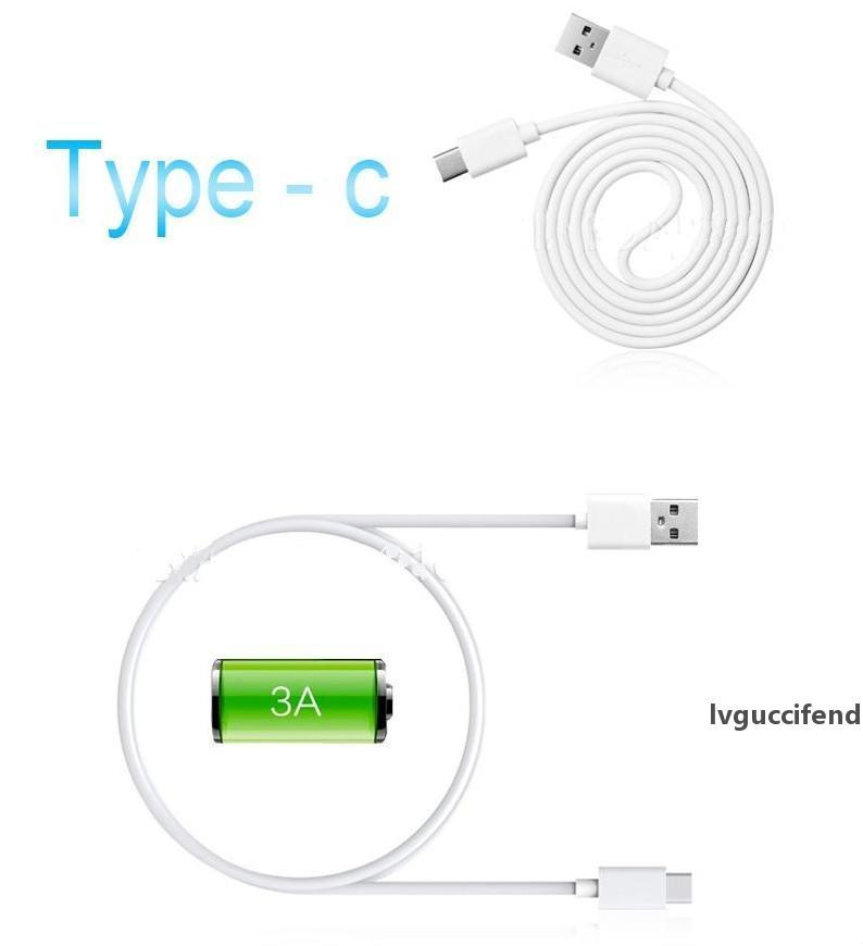 1M USB Macbook OnePlus 2 ZUK Z1 TPE Nokia N1 Tablet için şarj kablosu 3.1 veri senkronizasyonu kordon tipi -c