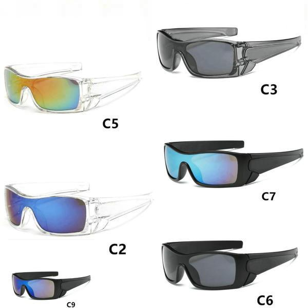 HEISS! Neue Männer Sonnenbrille-Frauen Radfahren Sonnenbrillen Radfahren Sport im Freien Strand Mode-Gläser 10pcs / lot Epacket Lieferung.