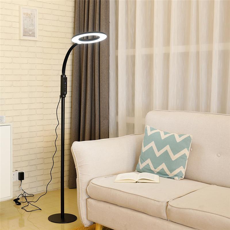 CRESTECH Modern Minimalist İskandinav Daimi Lambalar LED Zemin Işıklar Yaratıcı İçin Salon LED Ayaklı Lambalar
