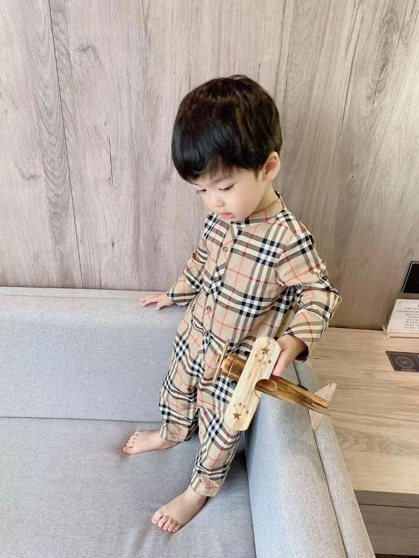 الرضع عالية الجودة السروال القصير جديد الخريف طفلة بوي القطن ملابس الرضع بذلة للملابس ملابس بيبي