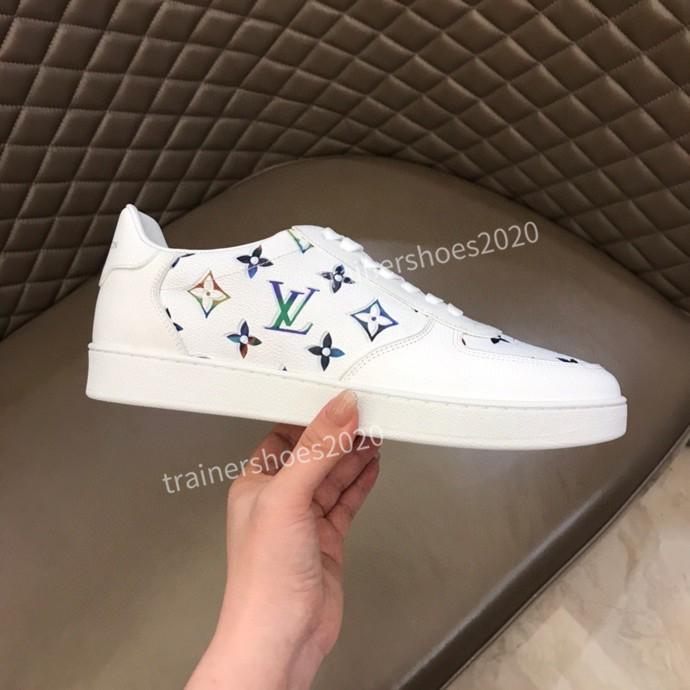 Louis Vuitton LV shoes Zapatillas Guiseppes real de cuero remache recreativo arena calzado casual zapatillas de deporte 38-44 rd200716