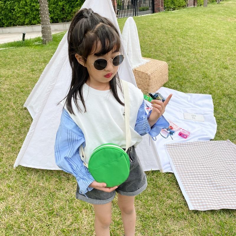 Coreano Colore figli puri borsa messenger caramelle carino cambiamento di colore Accessorio del bambino Accessori Candy zaino zaino tracolla ragazza bag