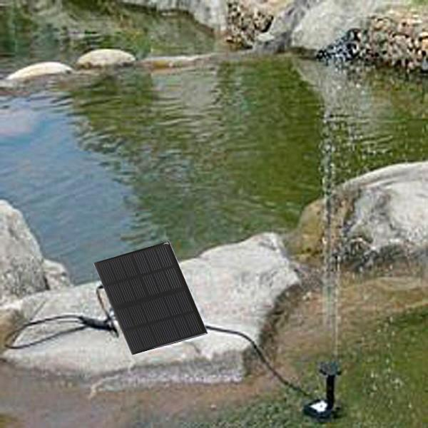 Solar Irrigation Air Pumps Oxygen Water Pump for Agricultural Garden Pool Flowers Plants Watering