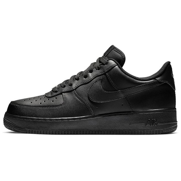 Nike Air Force 1 one AF1 Chaussures de course classiques tout blanc bas noir gris hommes coupés haute femmes baskets sport un patin US Chaussures de 5,5 à 12