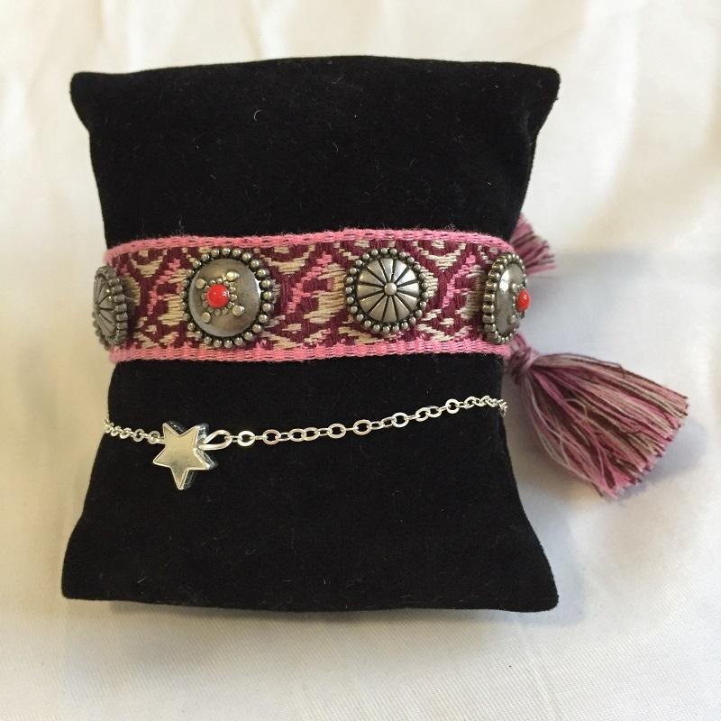 Quaste Armband verknoten kann mit allen möglichen Sommerkleidern, modischen Arm Stapel für Mädchen und Hip-Hop-Stil getragen werden