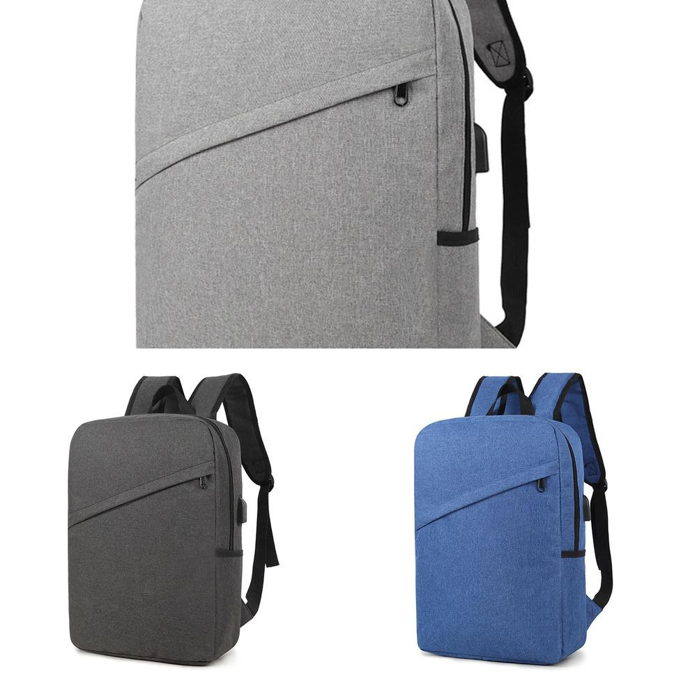 Reisen berühmte Marke neue Art und Weise USB aufladbare Anti-Diebstahl-Rucksack Herren-Leinwand-Tasche