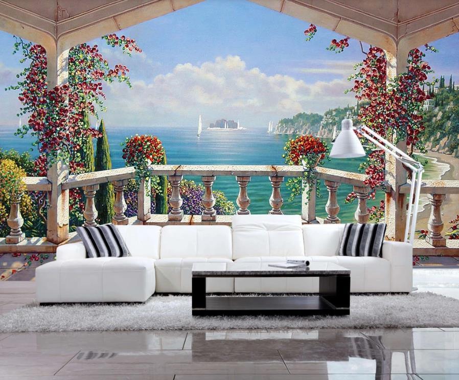 de papel mural de la pared 3d modifique para requisitos particulares fondos de pantalla para el sitio de niños dormitorio Salón paisaje hermoso fondo de pantalla estilo nórdico