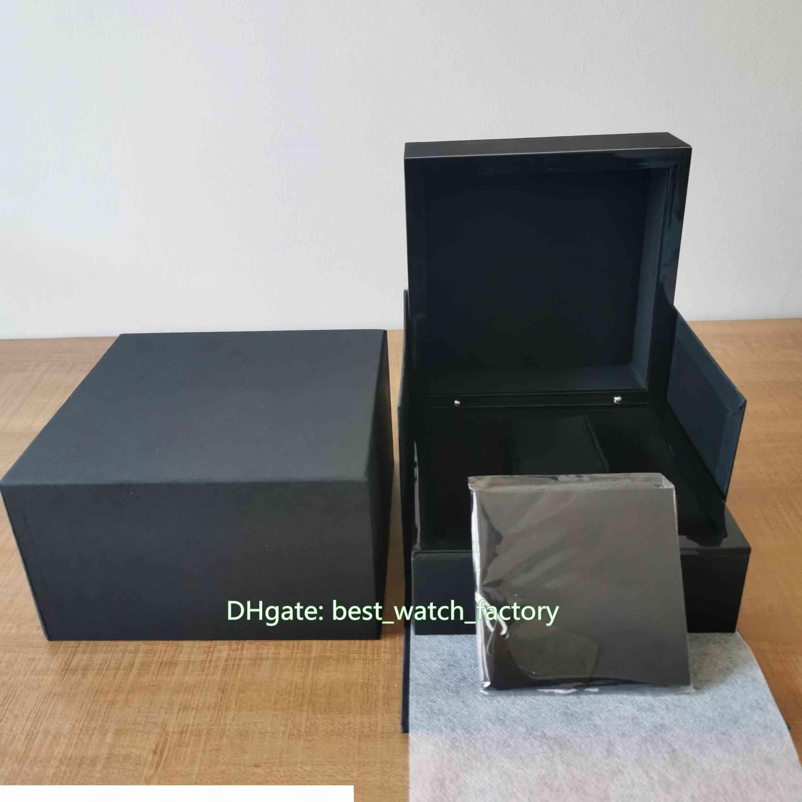Vendita caldi di alta qualità di RM 056 035 001 cuoio della vigilanza scatola originale Papers Scatole della borsa per Yohan Blake cronografo flyback 7750 Orologi