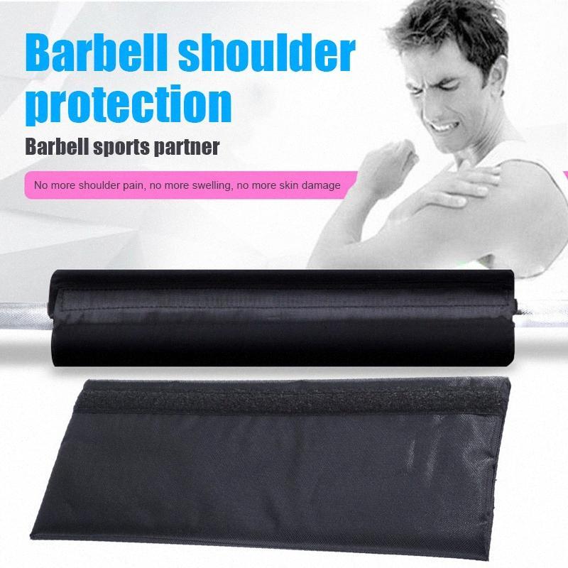 BARBELL Shoulder Pad Neck Pad espessamento Halterofilismo Proteção luva Barbell Tampa KH889 BsM0 #