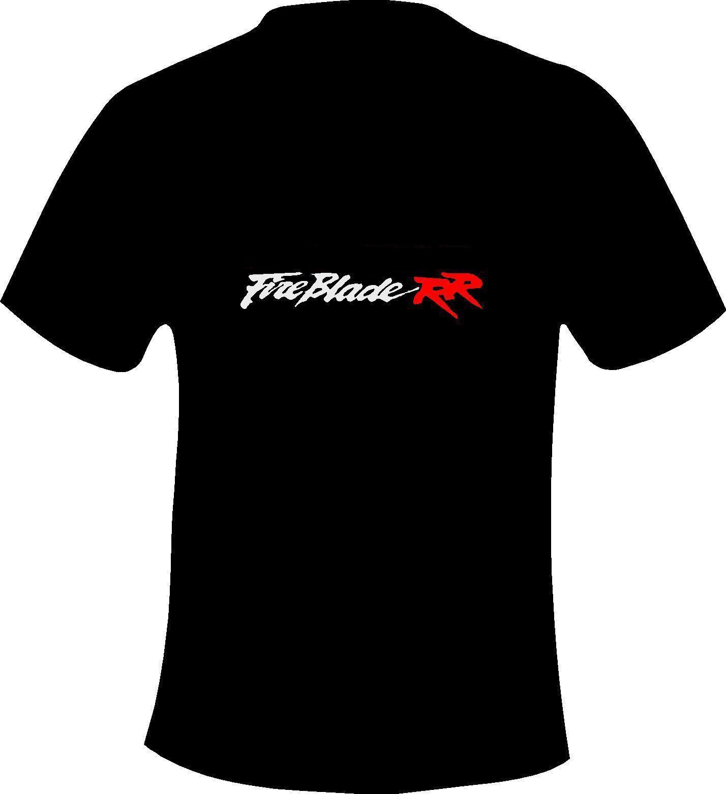 2020 New Mens camisetas Japão Moto CBR Fireblade 900/1000/954 Motorcycle Impresso T camisa do Camiseta