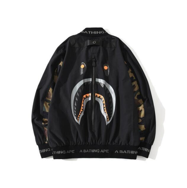 New Autumn Teenager Casual Color Block Camo Windbreaker Jacket Men Women Zipper Thin Casual Black Windbreaker Jacket