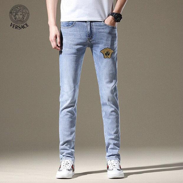 Новые моды для мужчин черные джинсы тощий рваные Stretch для Slim запад хип-хоп SWAG джинсовой мотоцикл байкер брюки Jogger ~~ SD55