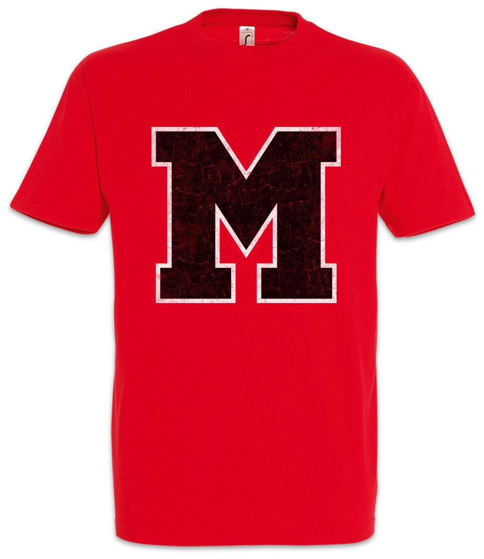 M Team T-Shirt Glee МакКинли Team Symbol Вход Логотип Титаны High School