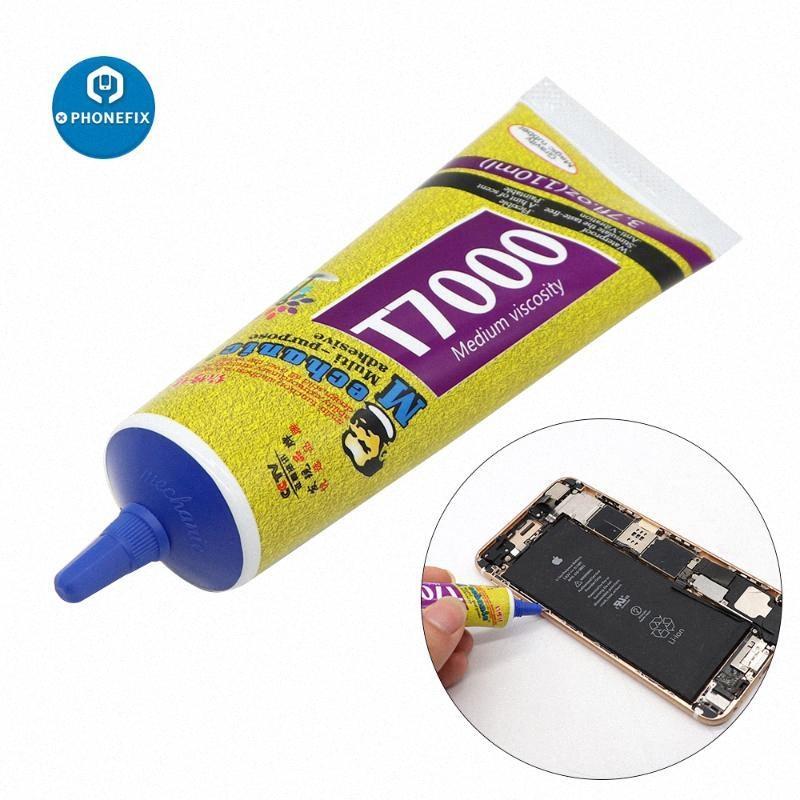 Meccanico Nero T7000 adesivo epossidico potente Liquid Glue Super sigillante Handset schermo Rack manutenzione metallo Bonding Adhesive QZA7 #