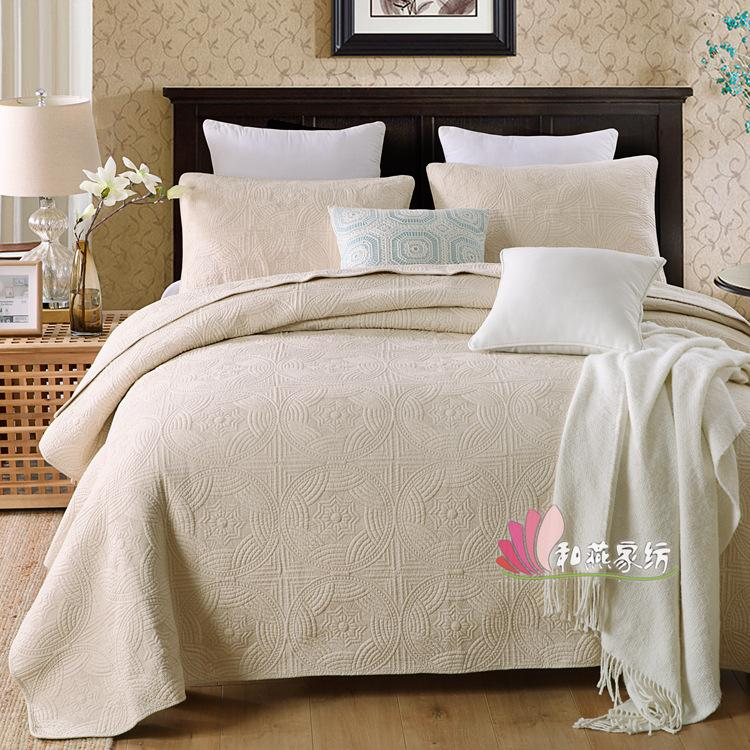 بسيط ترف الملك الحجم مجموعة مفروشات جاكار الأزهار المطبوعة ملاءات السرير غطاء لحاف لحاف يغطي مجموعات فرش السرير