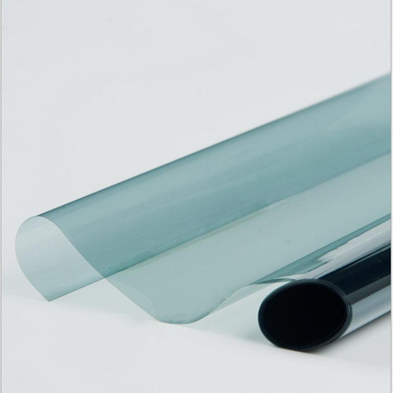 65%VLT 2ply Light Blue Car Sun Shade Window Tint Film Sun Protection Car Window Glass Sunshade Home Office Heat Rejection Vinyl