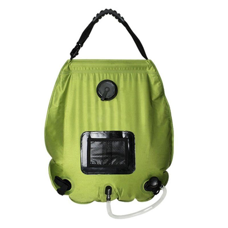 Suministros de espesor Ducha bolso al aire libre que acampa portable de ducha plegable bolsa de agua al aire libre