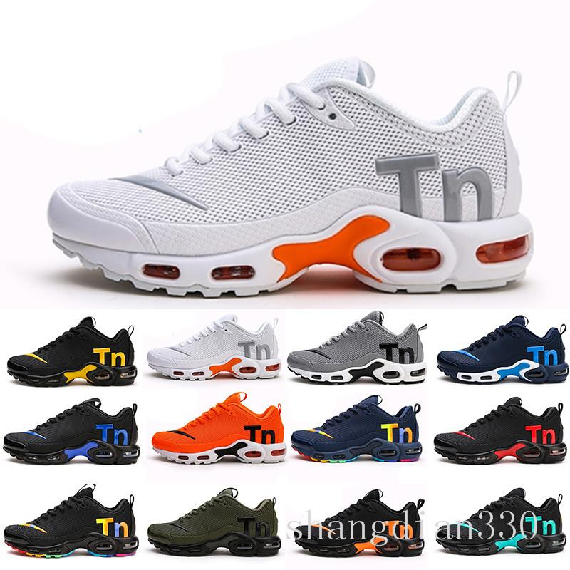 Mercurial TN Mens Designer Running Shoes 2019 Men Casual Air Cushion Dress Trainers Outdoor Best Hiking Jogging Sports Sneakers US 7-12 HGT6