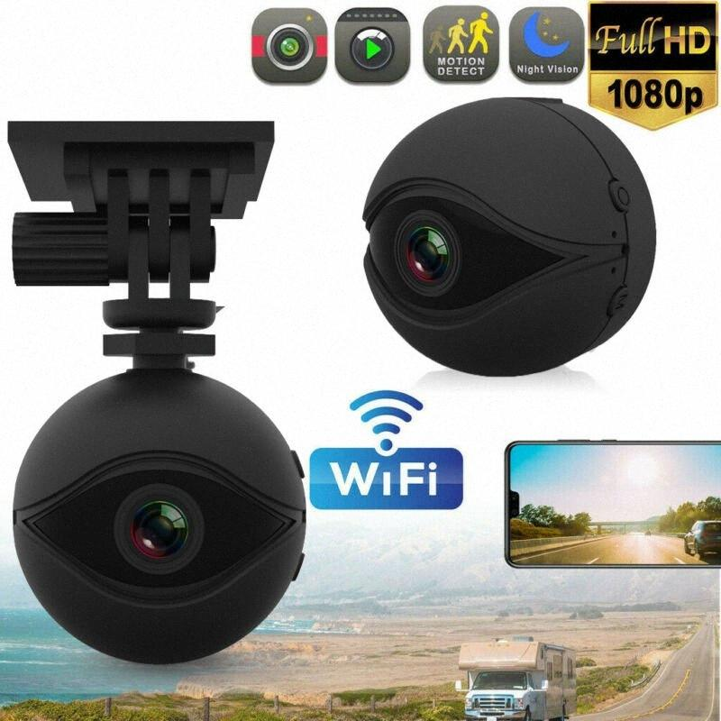 WiFi Hidden 1080P FHD Mini Car cruscotto cam fotocamera posteriore DVR Loop Video Recorder Ot6M #