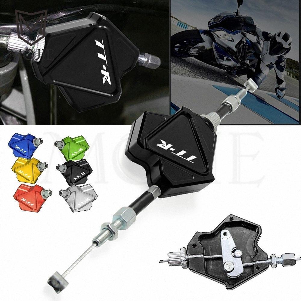Motociclo di alluminio di CNC Stunt leva frizione Facile Pull cavo sistema Per YAMAHAR125R125LR250R600R 125 125L 250 600 A4dj #