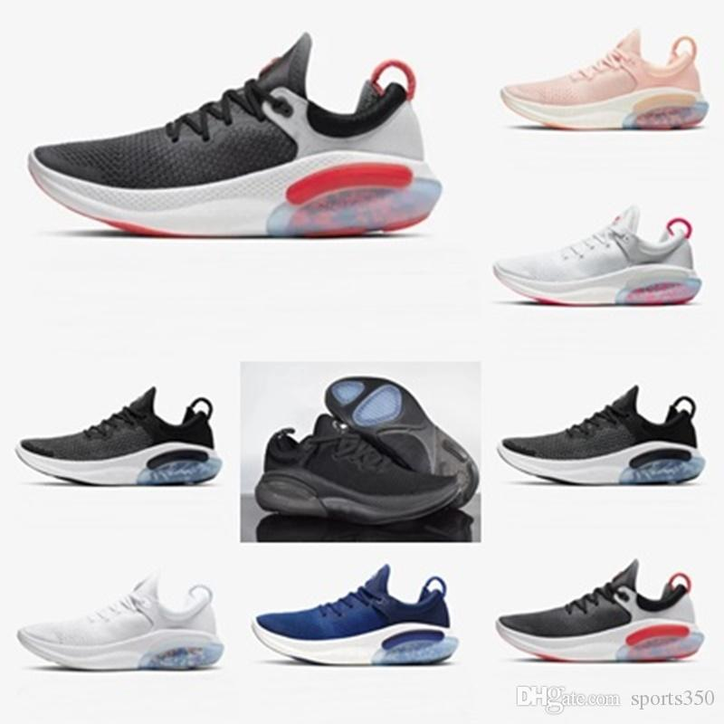 Nike Joyrides scarpe da corsa per gli uomini Platinum Tinta Università Red Racer Nucleo Blu Moda Uomo Nero preparatore atletico afhnauhf-458.748