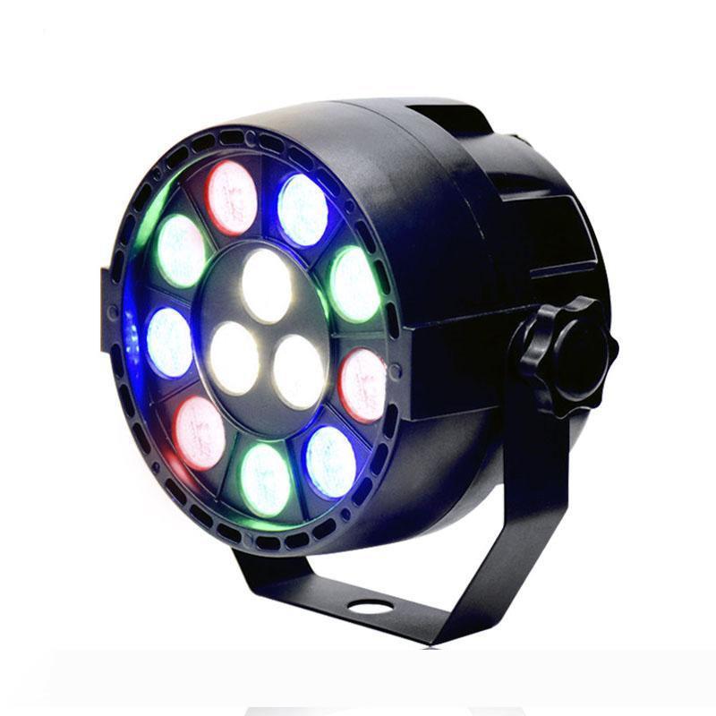 15 Вт RGBW 12 LED PAGE Light DMX512 Регулятор звука Красочный Светодиодный Света Света для Музыкальной Концертный Бар KTV Дискотеки Эффект Освещение