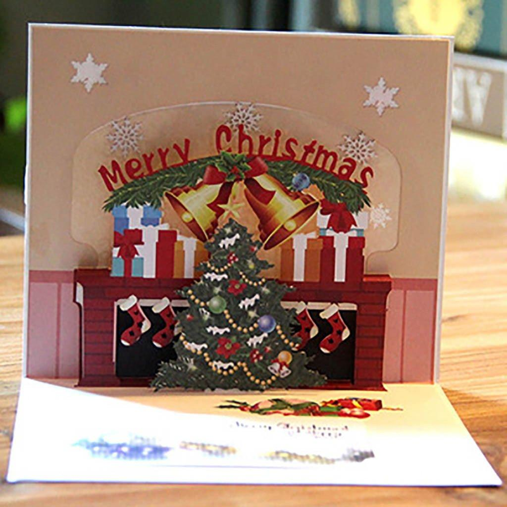 Birthday Wedding Invitations 3D Up Card Christmas Trees Holiday Merry  Christmas Greeting Cards Thanksgiving Invitations Gd7z# Birthday Card  Sayings Birthday Card Template From Cntown, $39.47  DHgate.Com