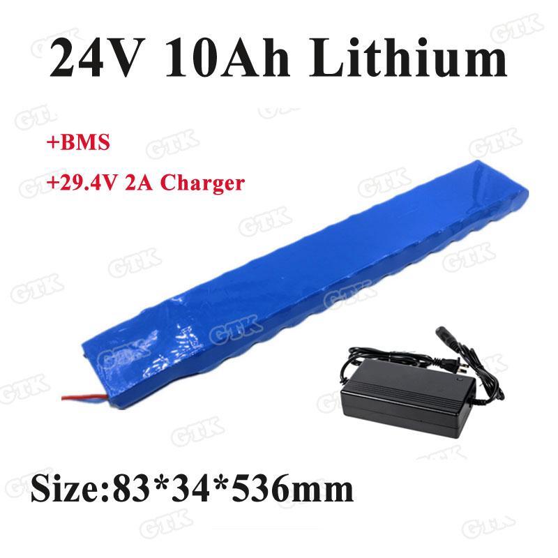 24v 10Ah-Batterie 10Ah lithiumli Ionen-Akku Einbau-BMS 29.4v für Elektrorollstuhlbatterien + 29.4v Ladegerät