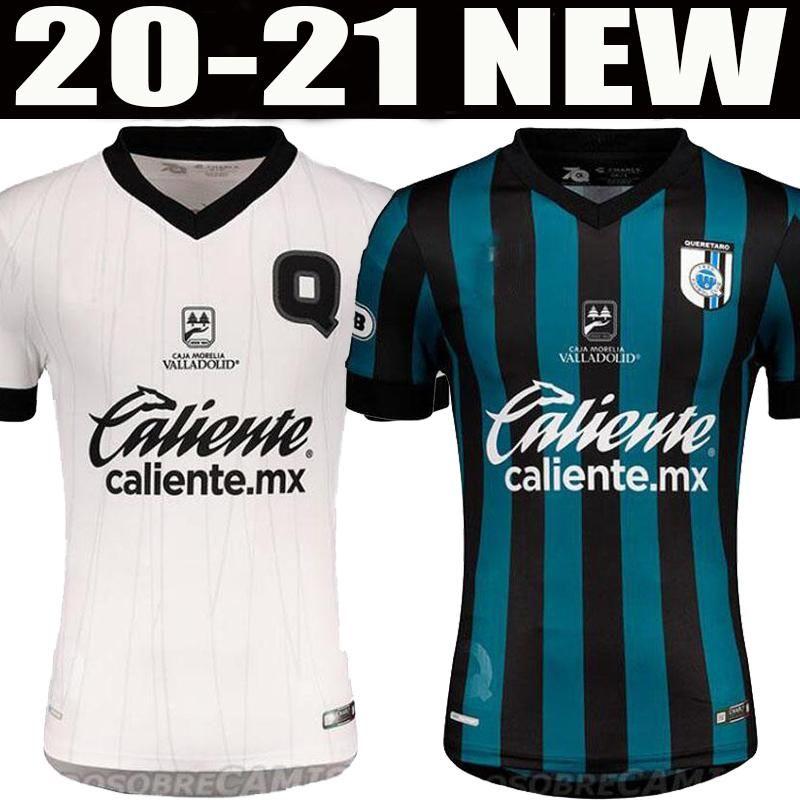 20 21 Queretaro FC pullover di calcio 2020 2021 Sanvezzo Everaldo Marcello camicia di calcio Uniformi Samudio Britos calcio