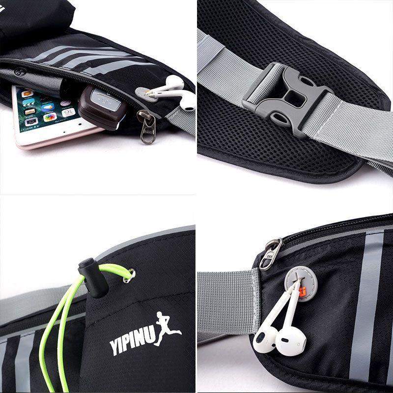 YIPINU outdoor running sports kettle Bicycle Travel travel waterproof cycling hiking bag marathon running bag